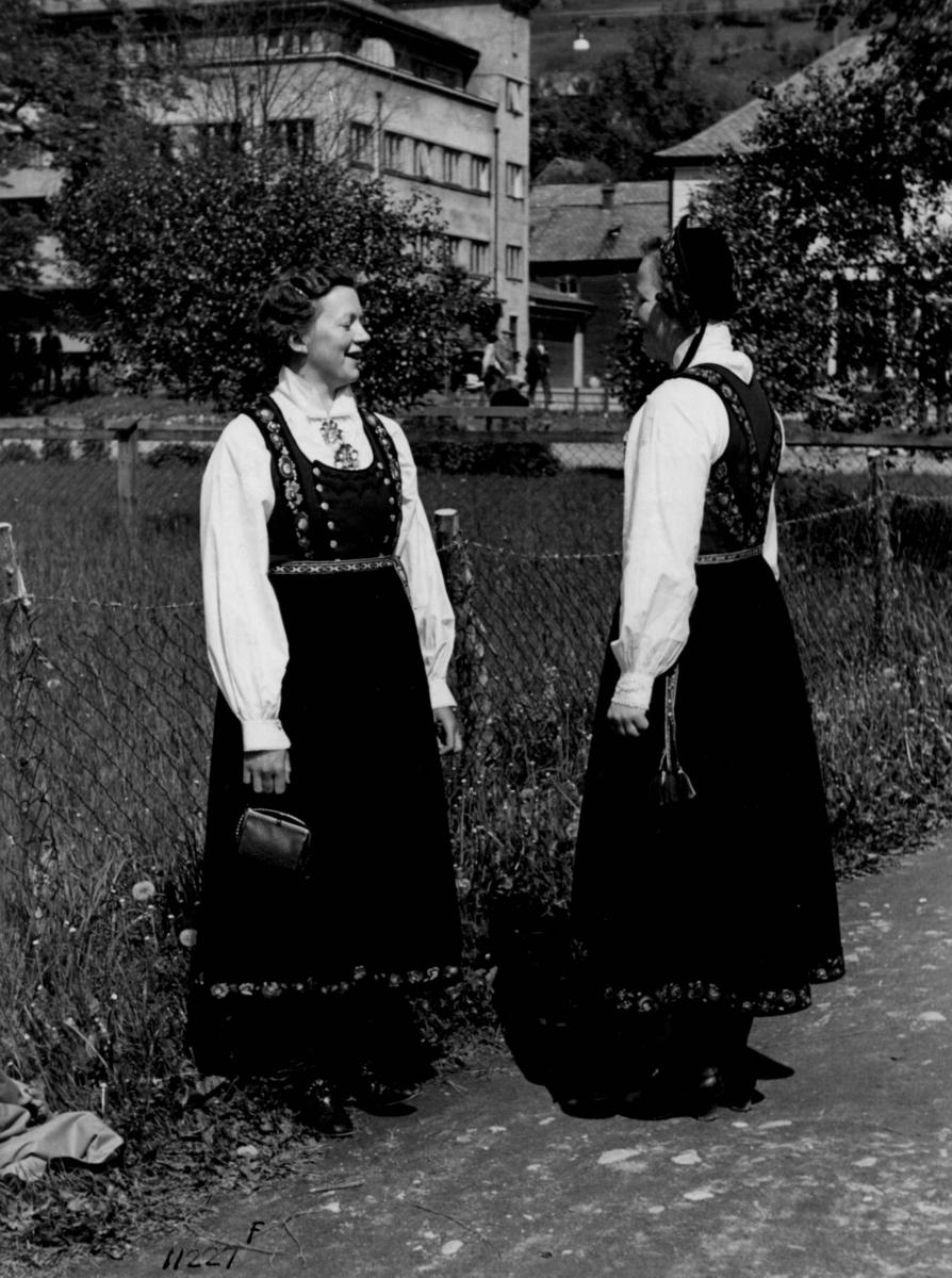 Kvinnedrakter, Telemark