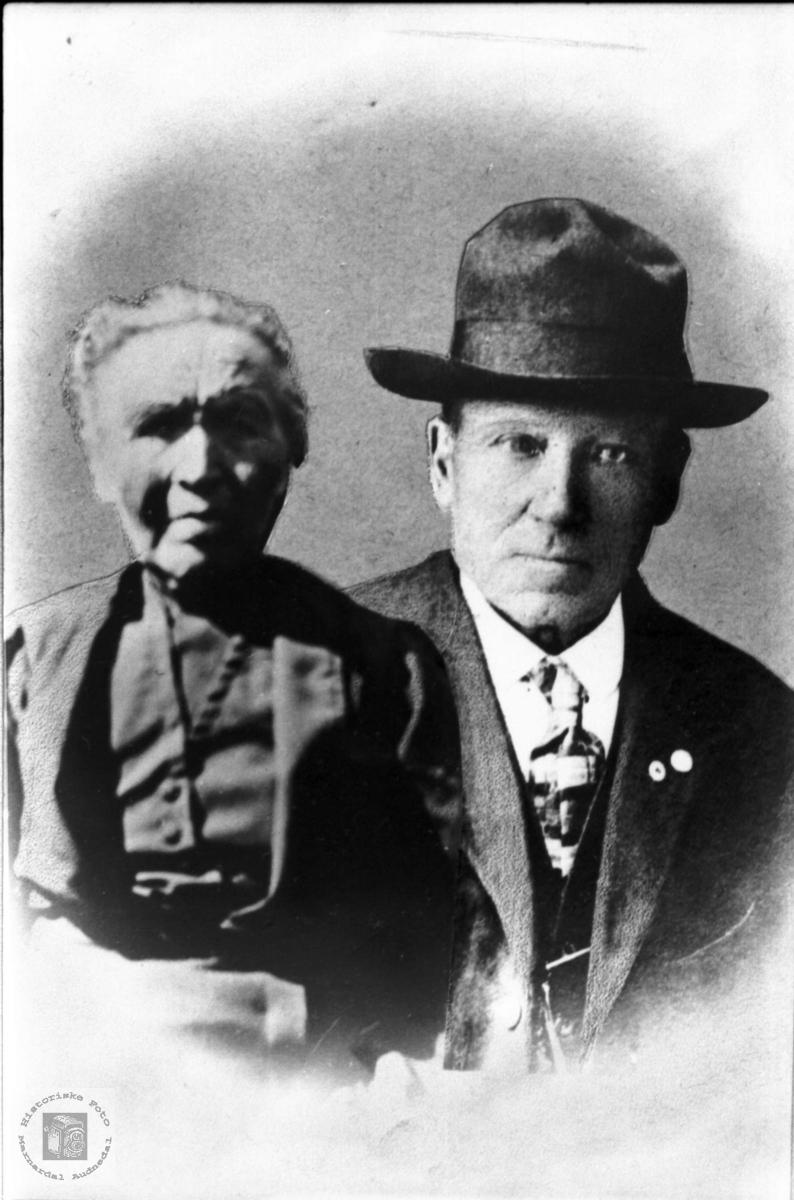 Ekteparet Gunvor og Bergtor Valand, seinare  Daland