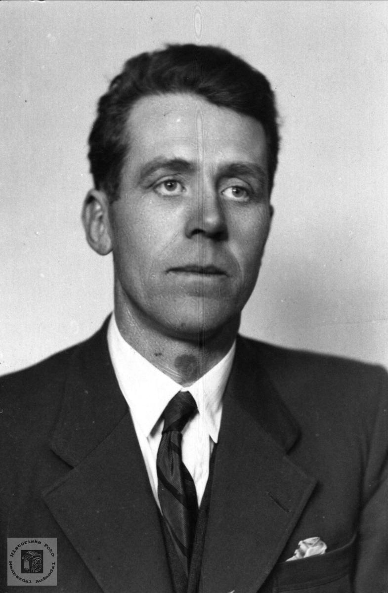 Portrett av Olav Stiansen Manneråk, Øyslebø.