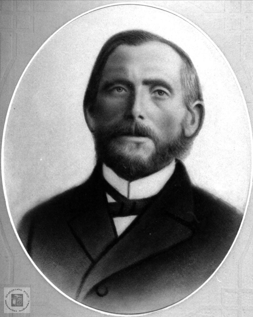 Portrett av Knud Skaar, Øyslebø.