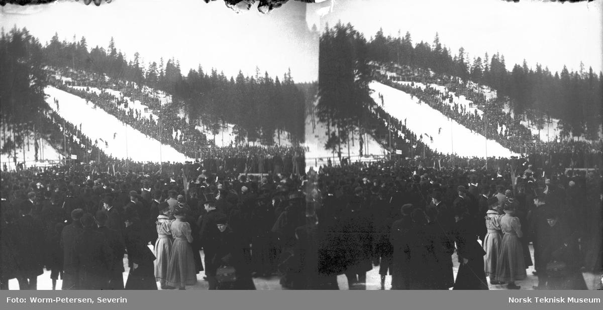 Holmenkollrennet, Kristiania