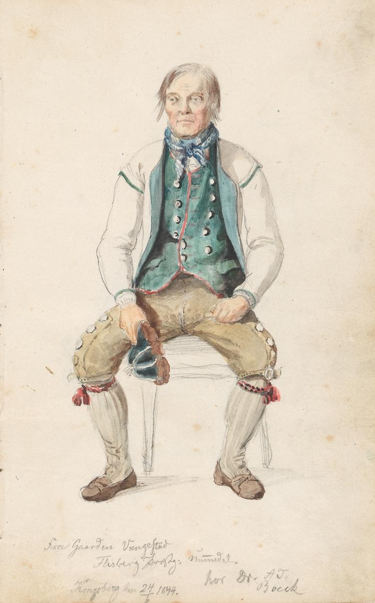 Niri Knutson Vangestad, Flesberg [Tegning]