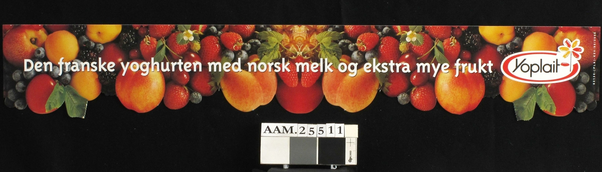 Frukter, aprikoser, jordbær, bjørnebær, blåbær m.m.