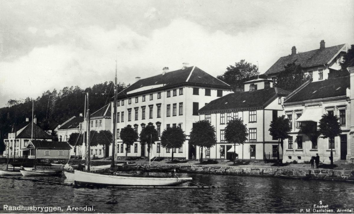Stedsbilder Arendal - Rådhuset Enkelteiendommer mnr 237 - nr 2581