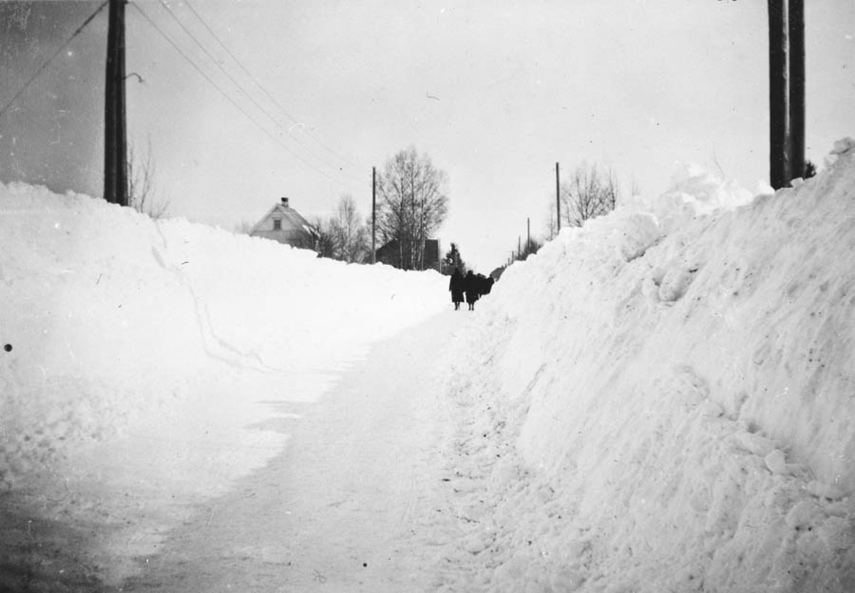 Snøvinteren 1938.