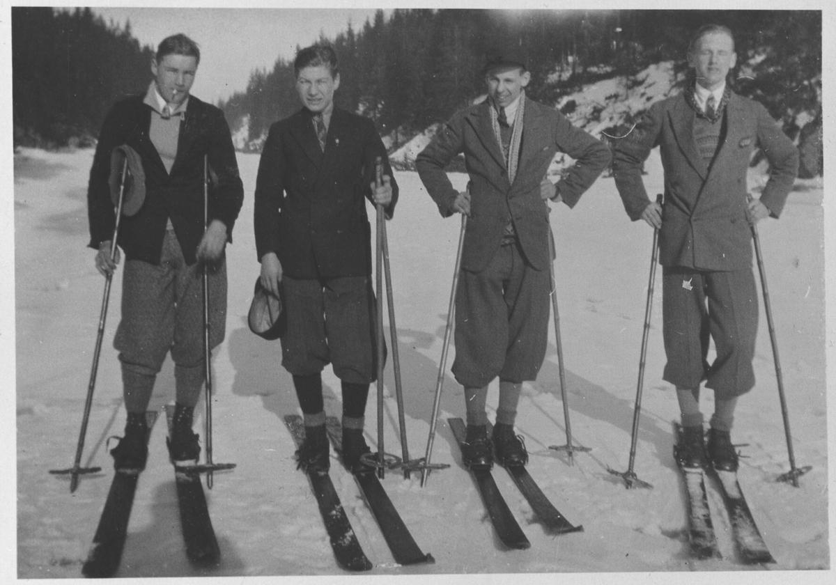Skitur - Åmodtdammen