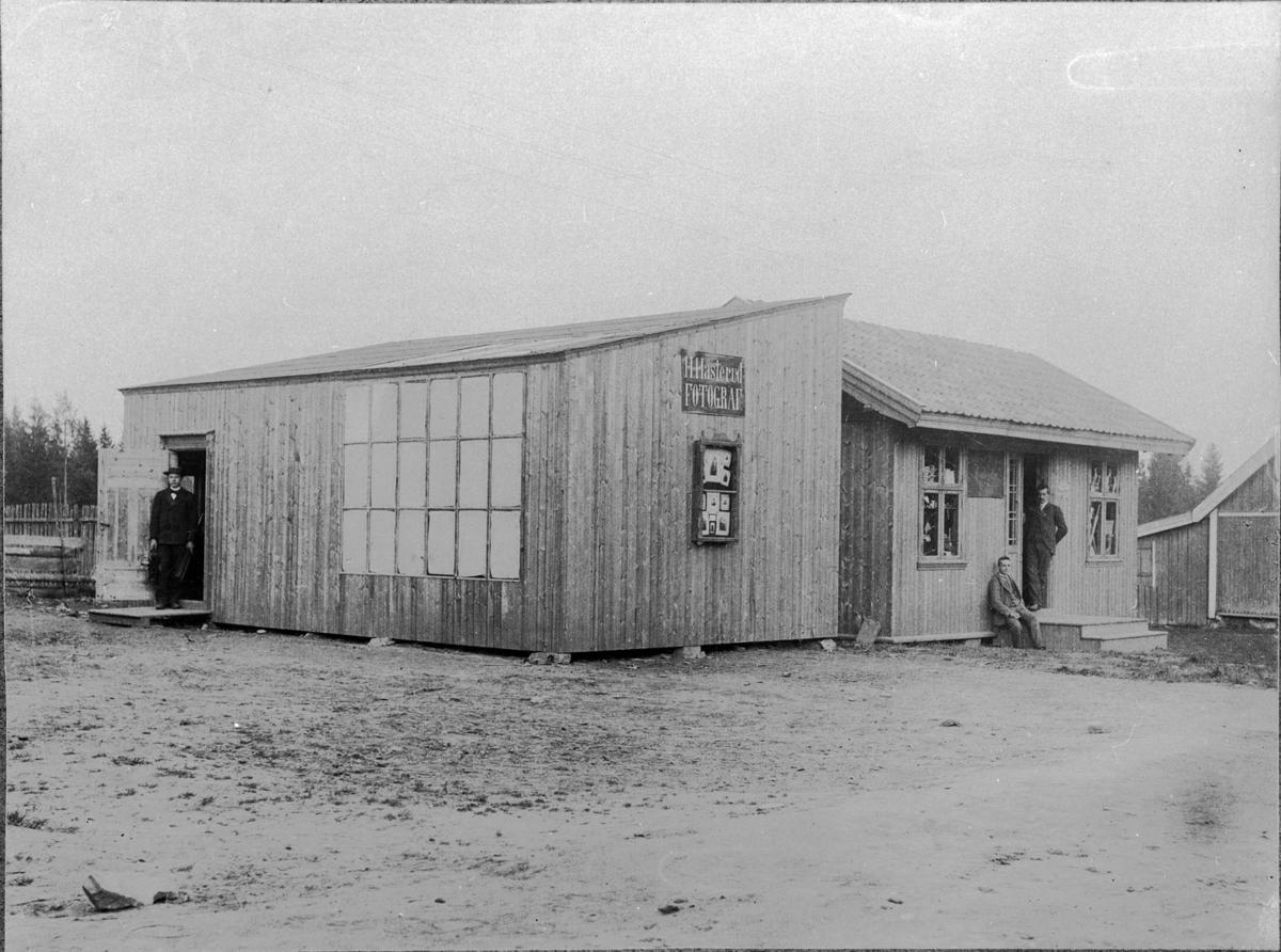 H. Hasleruds atelier på Gardemoen, bygget 1895.