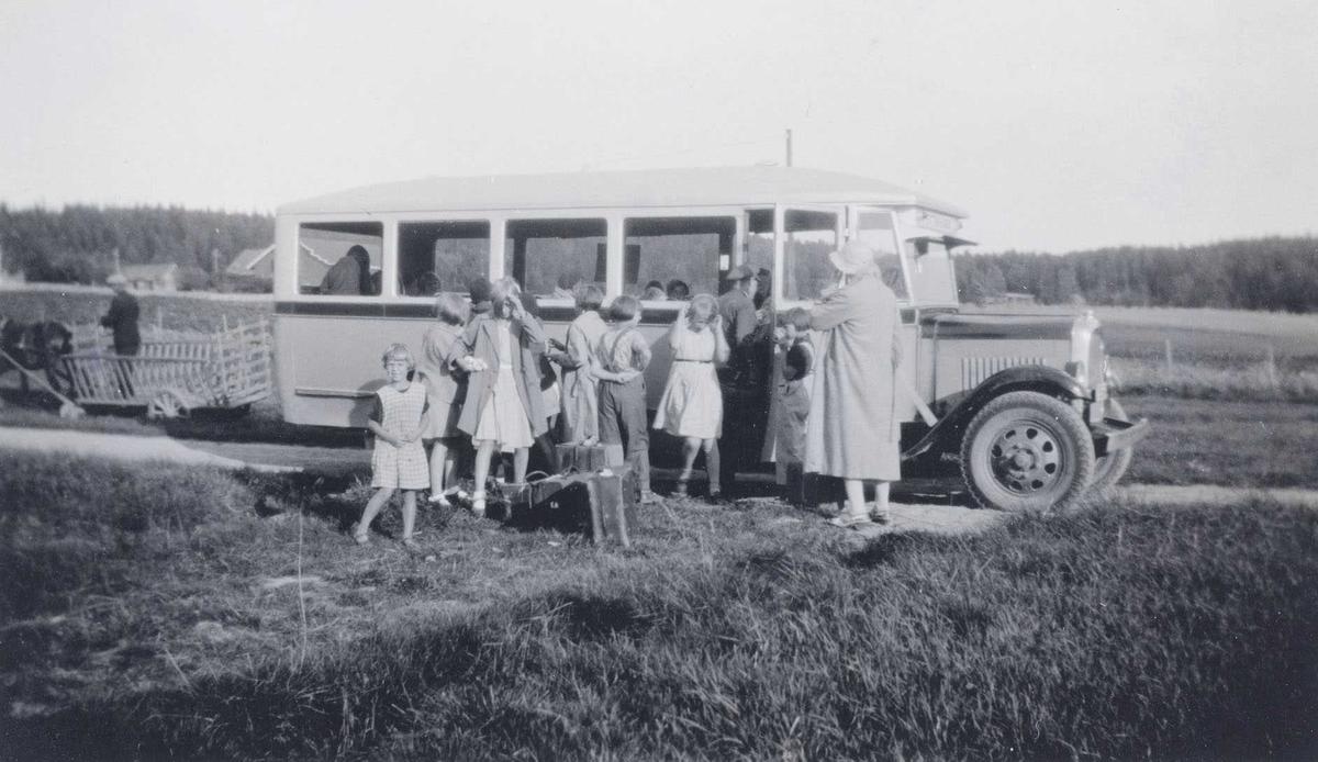Hølandsbussen i 1930 åra