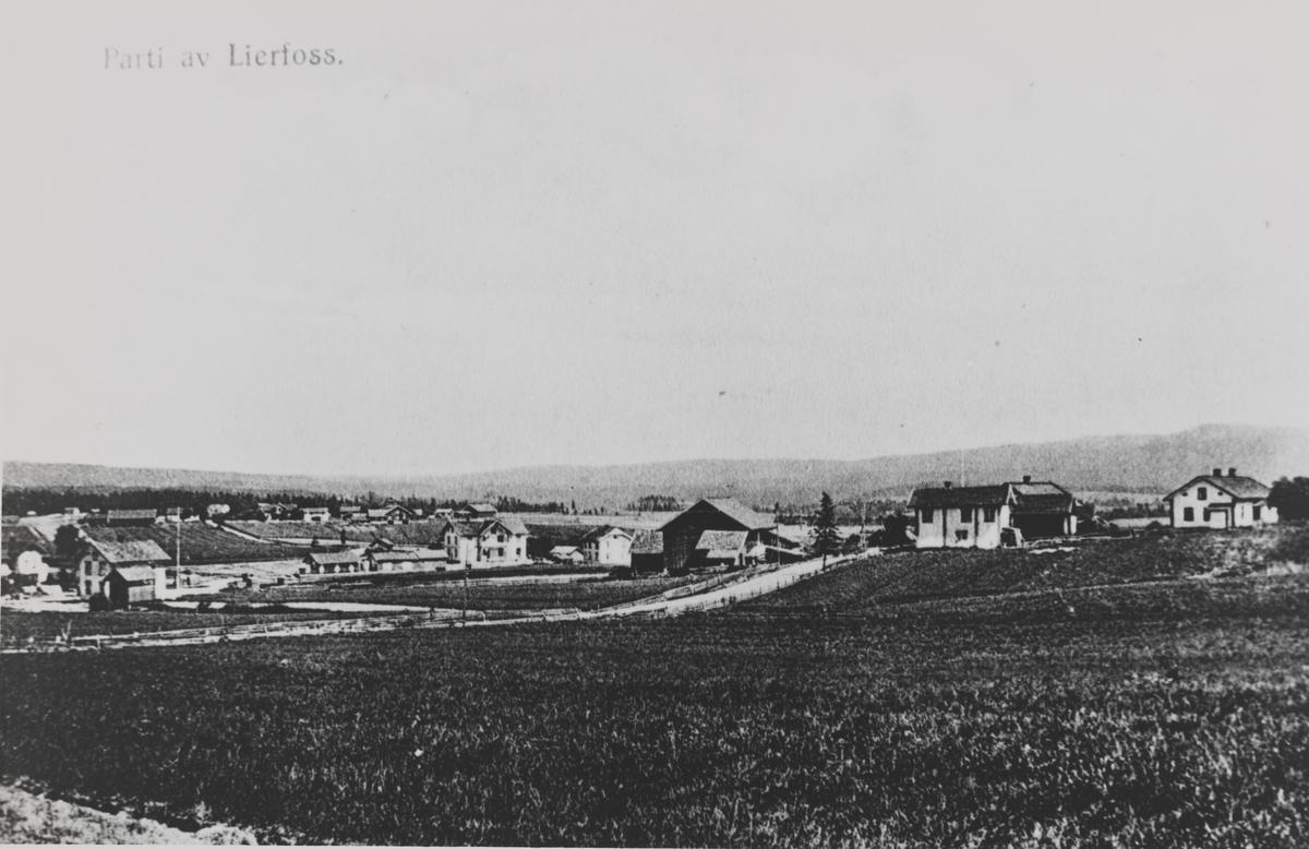 Oversiktsbilde fra Lierfoss
