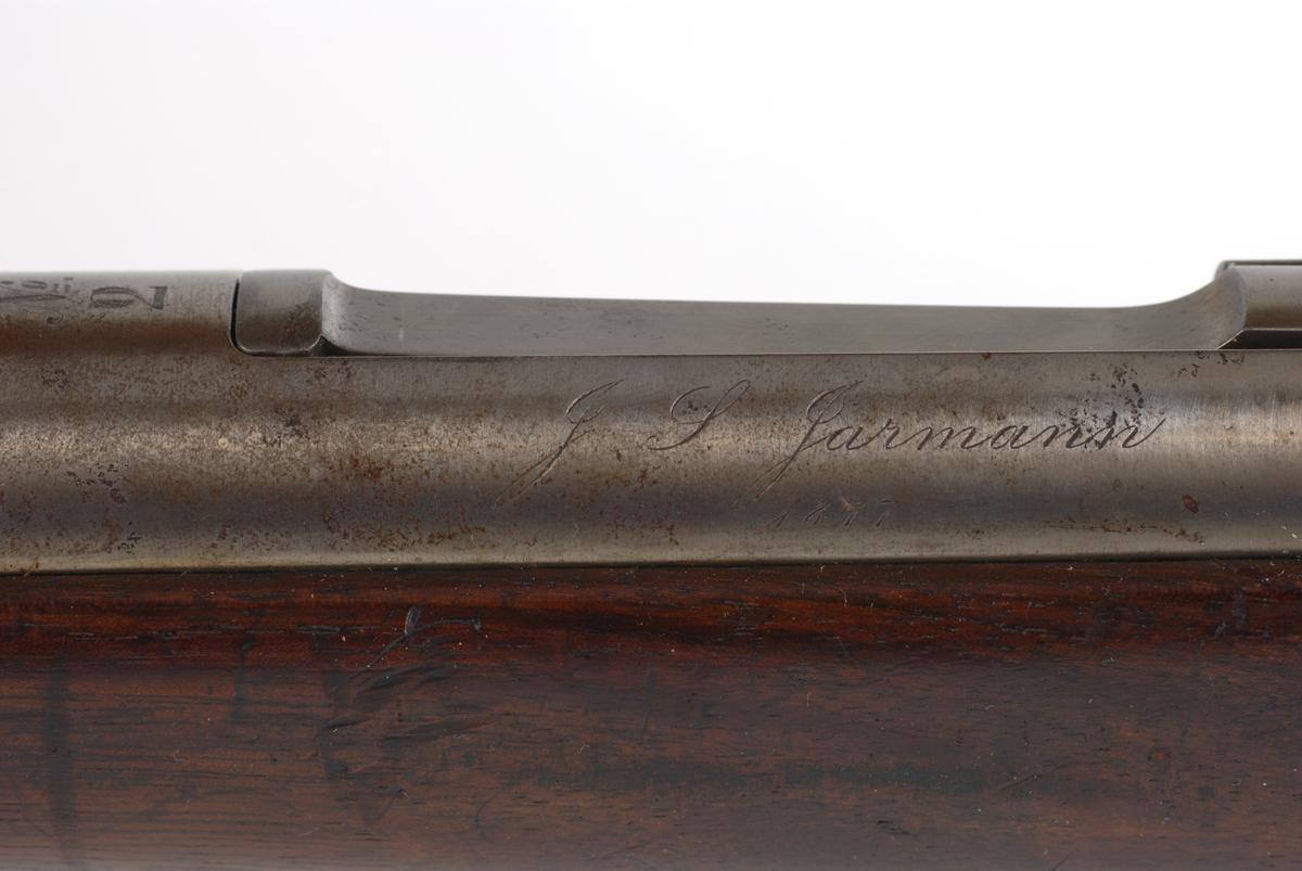 Prøvegevær 10,15 Jarmann 1877