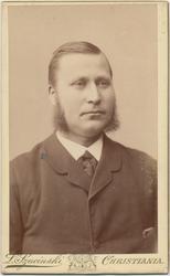 Portrett, Karsten Andreas Zachariasen, 1880