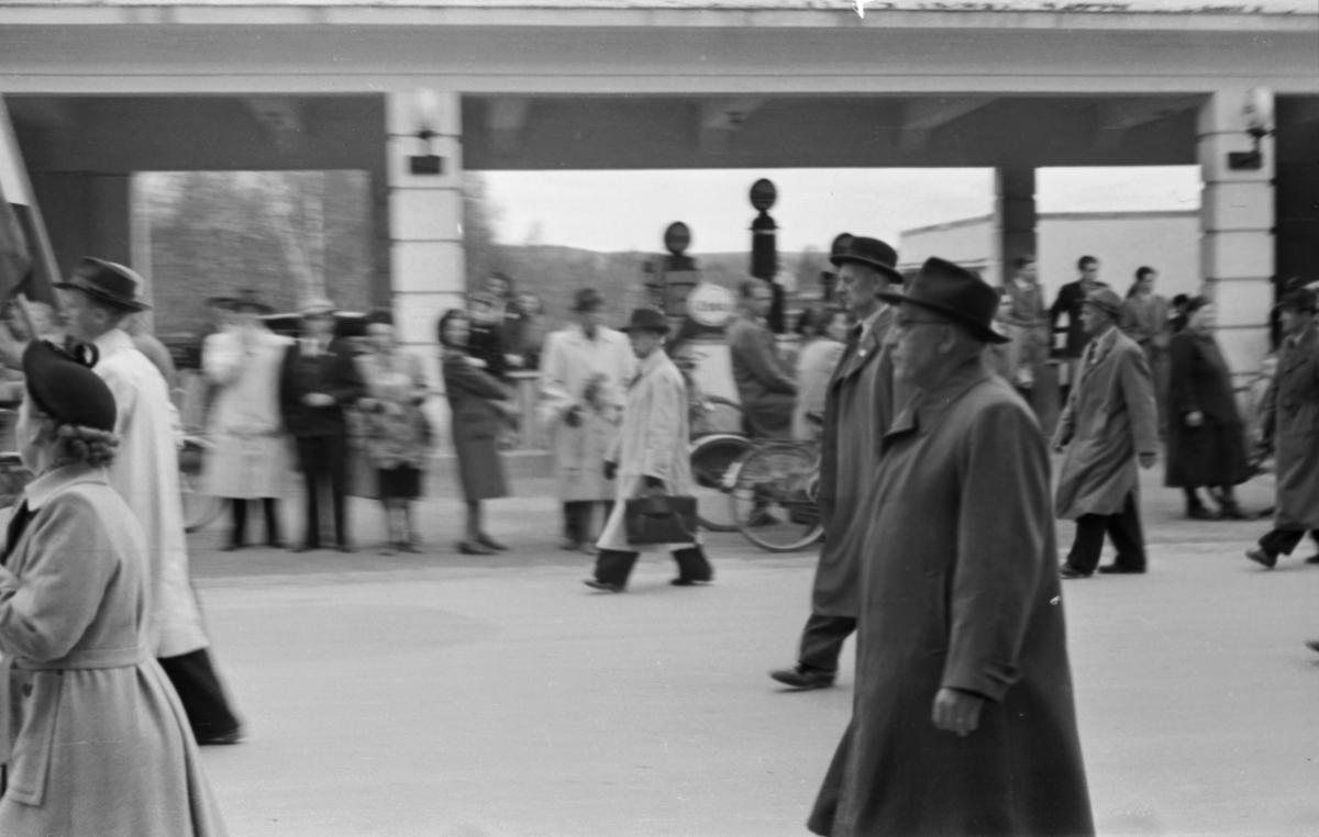 1. mai-tog, Leiret. Einar Gerhardsen