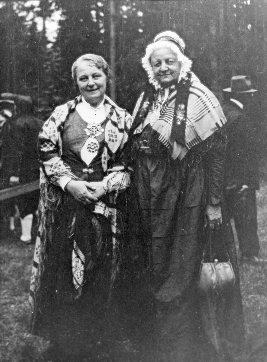 Fru Hamlander og fru Rogstad-Anderssen